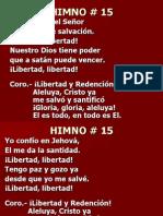 15. Libertad y Redención