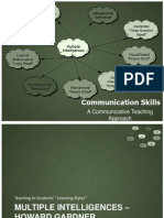Comm Skills & Multiple Intelligences Approach to Communicative Teaching