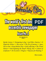 Eccentric City Newspaper Issue 1