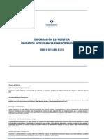 Reportes de La Unidad de Inteligencia Financiera Abril_2013_27!05!2013