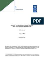Desafaos y Oportunidades Para El Ejercicio de La Prospectiva en Amacrica Latina Alemany Abril 2006
