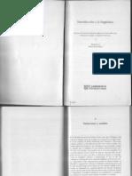 Radford et al Cap 3 y 4 Introducción a la Lingüística