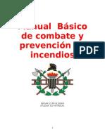 Manual de Combate y Prevencion de Incendios