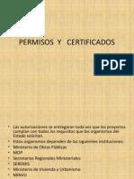 p.-permisos y Certificados