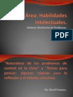 1.- Naturaleza de Los Problemas de Control de La Clase-David Fontana.
