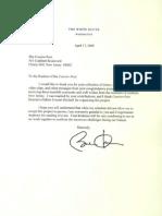 Barack Obama Letter
