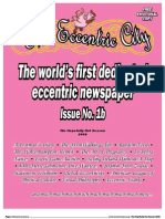 Eccentric City Newspaper Issue 1b