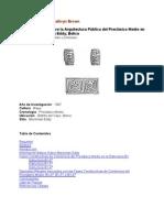Investigaciones Sobre la Arquitectura Publica del Preclasico Medio en el Sitio de Blackman Eddy, Belice..pdf