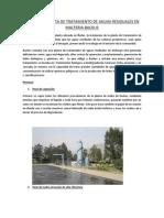 Visita a La Planta de Tratamiento de Aguas Residuales en Malteria Backus