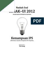 Naskah Soal SIMAK-UI 2012 Kemampuan IPS