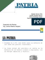 Presentación La Patria (Plantas)