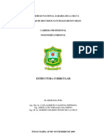 Plan Curricular Ingenieria Forestal UNAS 2009 (2)