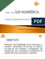 APTITUD NUMÉRICA ENCUENTRO 2