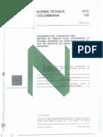 NTC 126 Metodo de Ensayo Para Determidar La Solidez de Agregados Para El Uso de Sulfato de Sodio