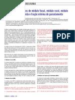 Artigo - Imóvel Rural- conceito de Mf, MR, ME e FMP