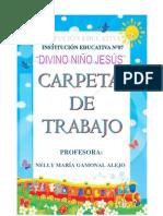 CARPETA PEDAGOGICA  DIVINO NIÑO JESUS INICIAL