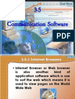 Comunication Software