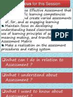 Mapeh Assessment