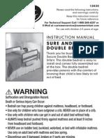 Sure Secure Double Bedrail
