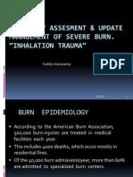 Inhalation Trauma, Burn 2012