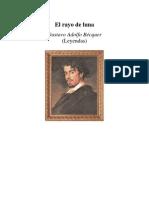 Becquer, Gustavo Adolfo - El Rayo de Luna