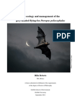 The Ecology & Management of the Grey-Headed Flying-Fox
