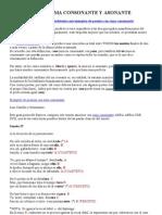 POESÍA. rima asonante y consonante. doc