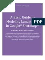 Basic Guide to Modeling Landscape Sin Sketchup