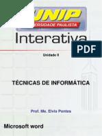 slide técnica de informática unidade 2