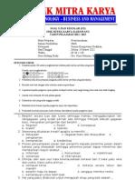 Soal US Kewirausahaan 2011-2012