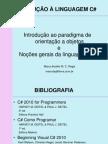 slide 01 - Introdução ao C#