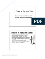 Draw me a person psychological test