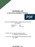 Memoria Calc.estructMIRAFLORES2011_ Completo