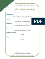 Monografia Alimentos transgénicos
