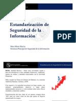 Estandarizacion de Seguridad de La Informacion Tendencias 2012