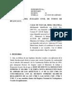 Ac.amp. Casas de Paucar 31-03-04