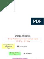 Energia Mecanica e Conservacao