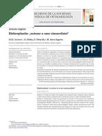 Blefaroplastia Con Adhesivo Tisular