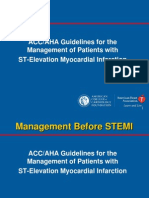 Aha Guidelines for Stemi