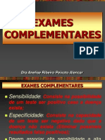 6 - EXAMES COMPLEMENTARES-semiologia