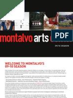 Montalvo Arts Center 09/10 Season Brochure