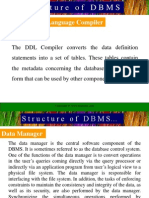 Structure & Architecture of DBMS