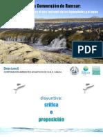Chile y la Convencion de Ramsar.ppt
