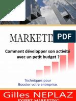 eBook Marketing Comment Developper Son Activit Avec Un Petit Budget