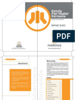 Manual e Stuf Amf Hk 540