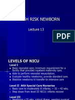 HIGH RISK NEWBORN  13 student version.ppt