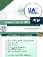 Reunión clínica 31-5-2013 Grupo 5