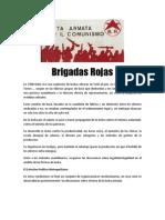 Las Brigadas Rojas