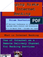 Managing Risks of Internet Banking - Presentation