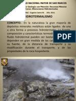 1ra Clase Hidrotermalismo (1)